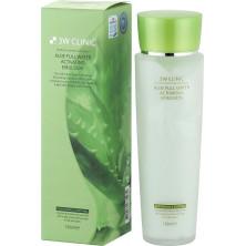 3W CLINIC АЛОЭ/Тоник для лица Aloe Full Water Activating,150 мл (для любого типа кожи) КОРЕЯ